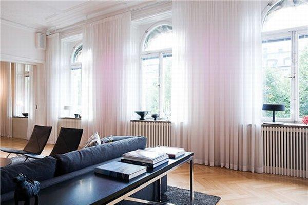 Современный Дизайн интерьера квартиры в Стокгольме фото 3