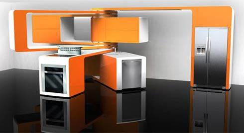 Крутящаяся кухня фото 1