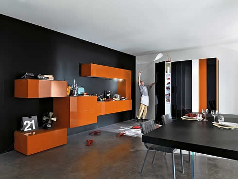 Кухня в прямоугольниках фото 1
