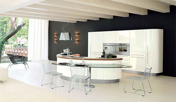 Очень стильная кухня фото 1