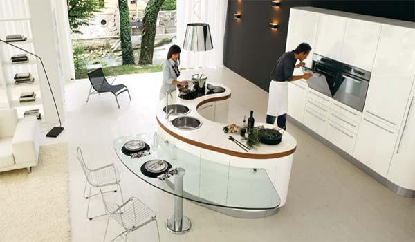 Очень стильная кухня фото 2
