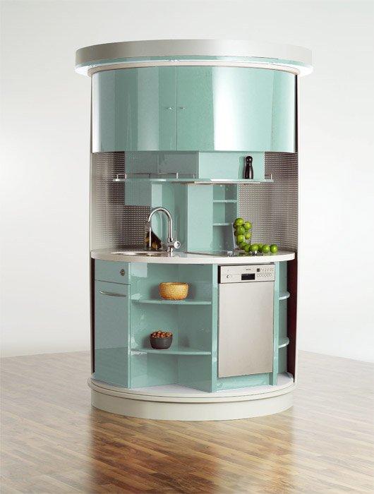 Очередной дизайн компактной кухни фото 1