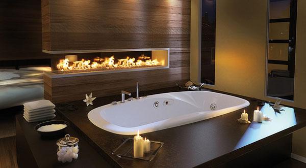 Роскошная ванная комната фото 1