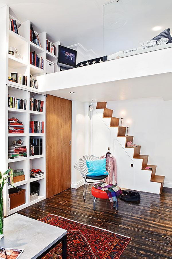 Дизайн для комнаты с высокими потолками