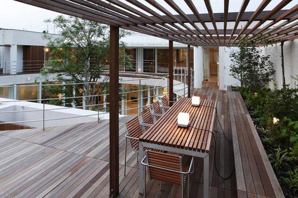 Необычная японская резиденция * дизайн и фото интерьеров, пр.