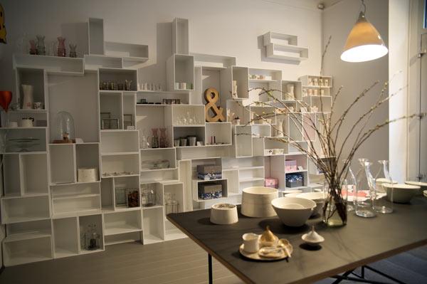 Дизайн стеллажей в интерьере
