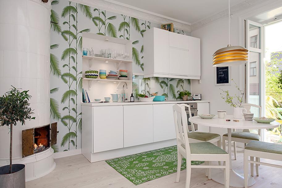 Дизайн красочной квартиры в Швеции фото 4