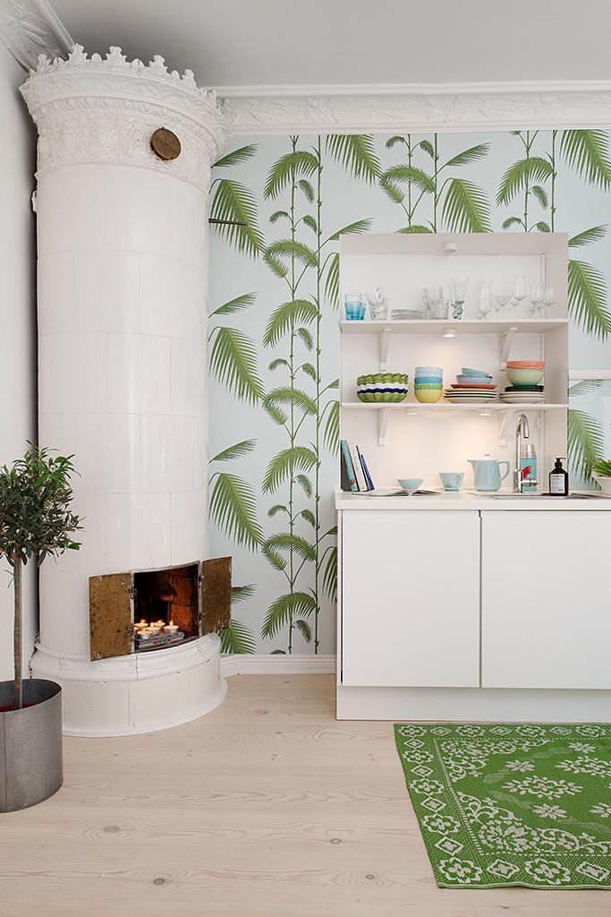 Дизайн красочной квартиры в Швеции фото 5