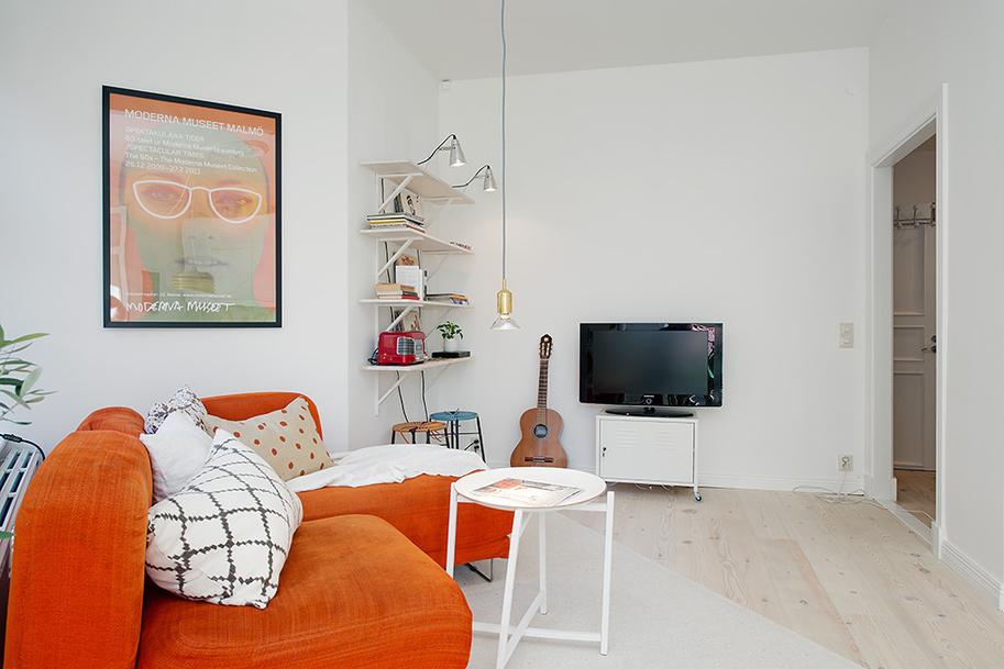 Дизайн красочной квартиры в Швеции фото 6