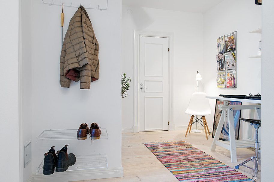 Дизайн красочной квартиры в Швеции фото 7