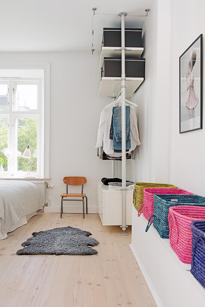 Дизайн красочной квартиры в Швеции фото 8