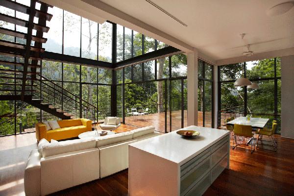 Уникальный и современный дом с великолепным видом фото 5