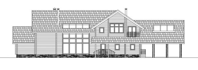 367/07 – проект деревянного дома фасад