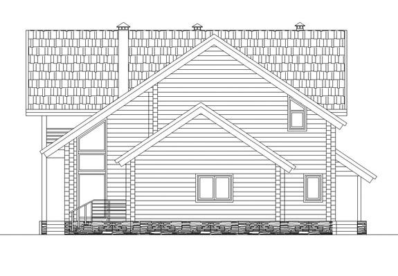 367/07 – проект деревянного дома фасад 5