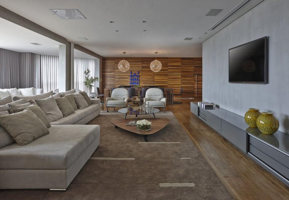 Большая и современная квартира в Бразилии фото 1