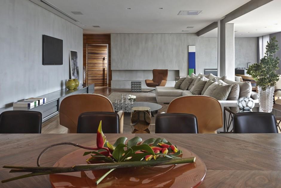Большая и современная квартира в Бразилии фото 12