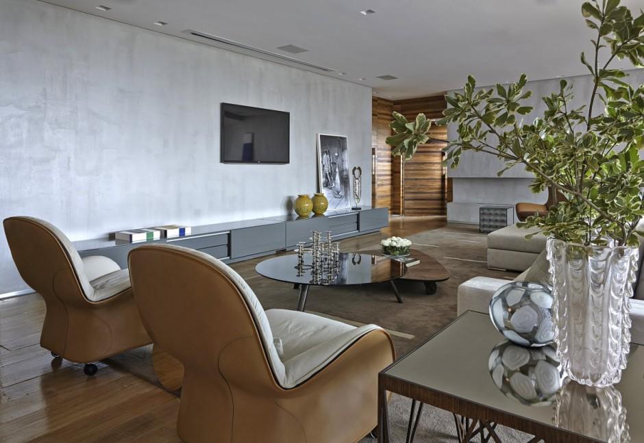 Большая и современная квартира в Бразилии фото 5