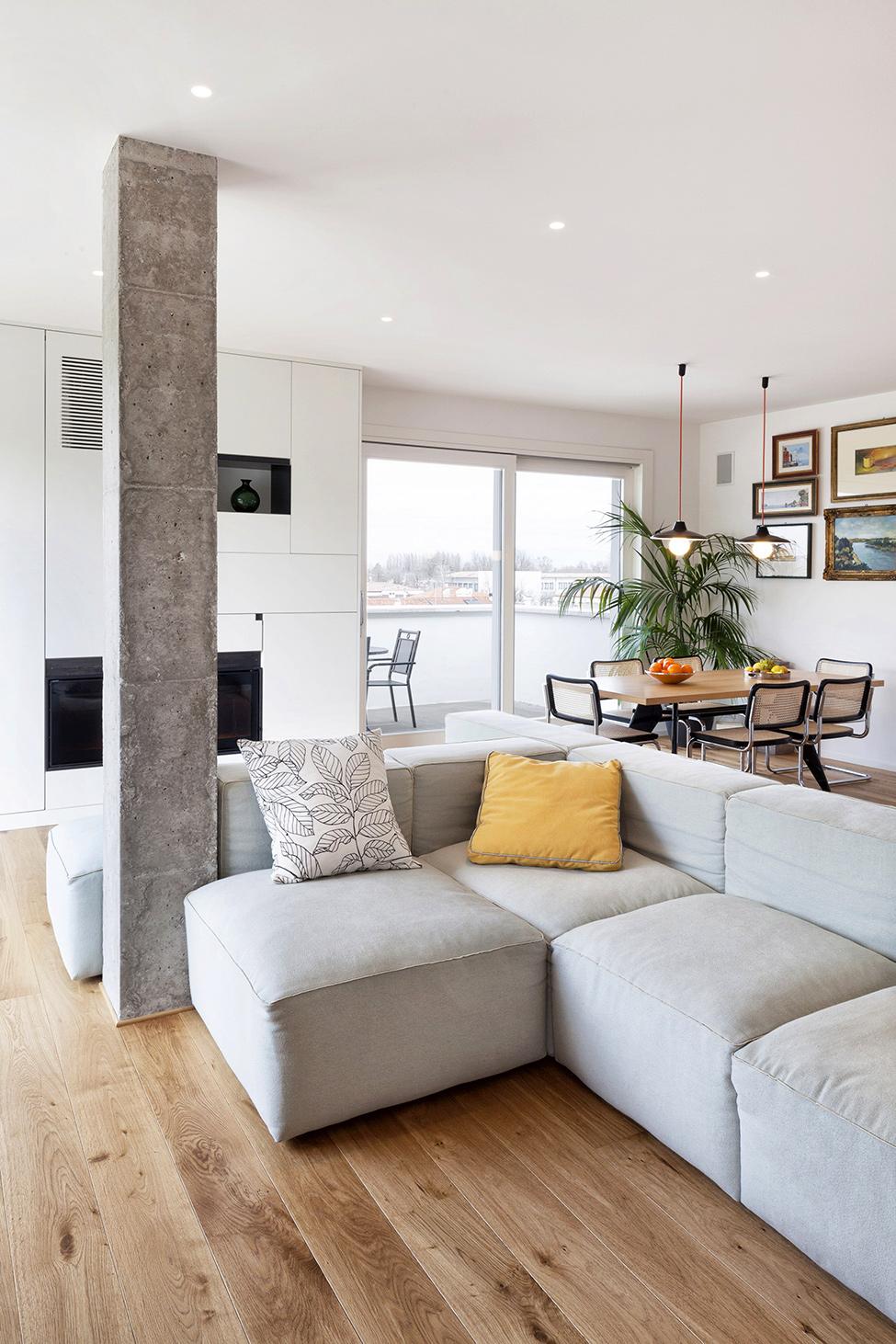 Дизайн ярких апартаментов фото 6