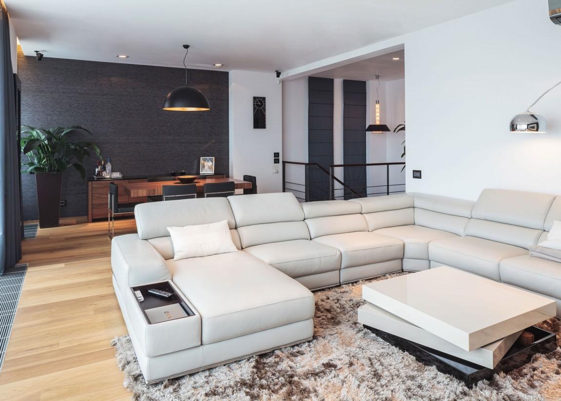 Двухэтажный пентхаус с изысканным интерьером фото 2
