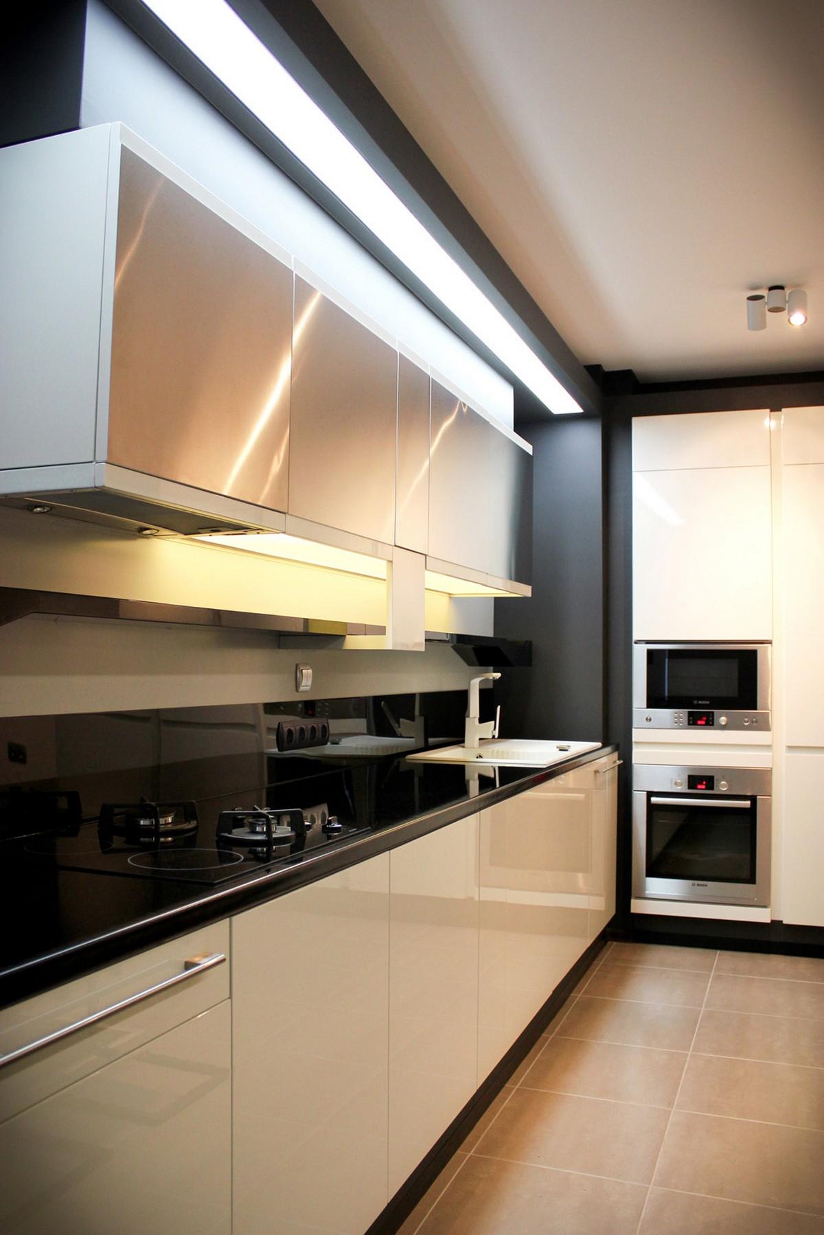 Футуристический дизайн интерьера частного дома фото 11