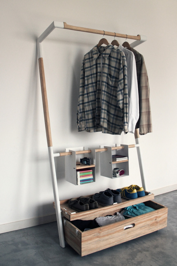 Практичная вешалка-шкаф фото 1