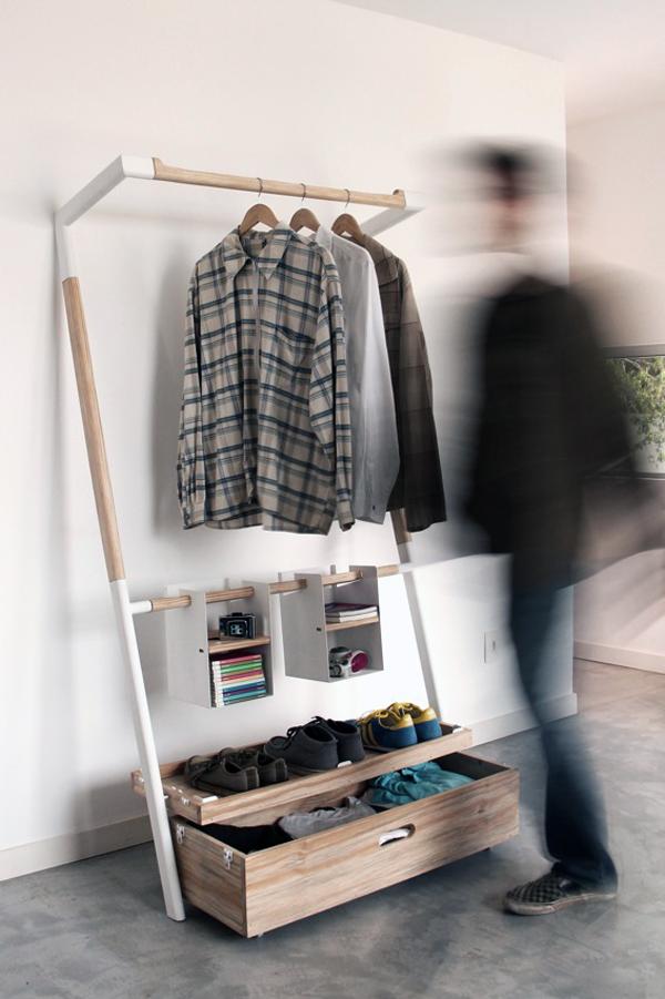 Практичная вешалка-шкаф фото 3