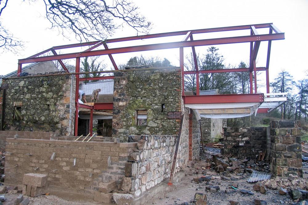 Преобразование старого сарая в замечательный дом фото 5