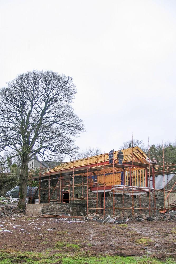 Преобразование старого сарая в замечательный дом фото 6