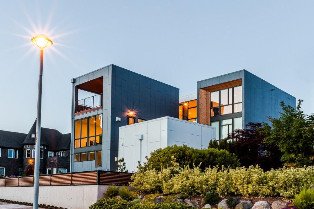 Просторный и светлый современный дом в Сиэтле фото 1