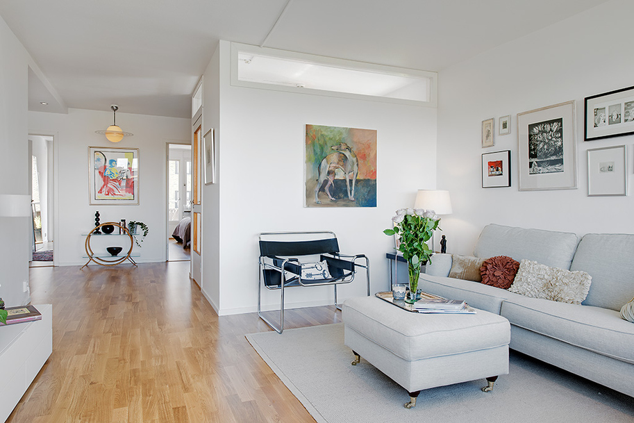 Реконструкция квартиры в Гетеборге фото 2