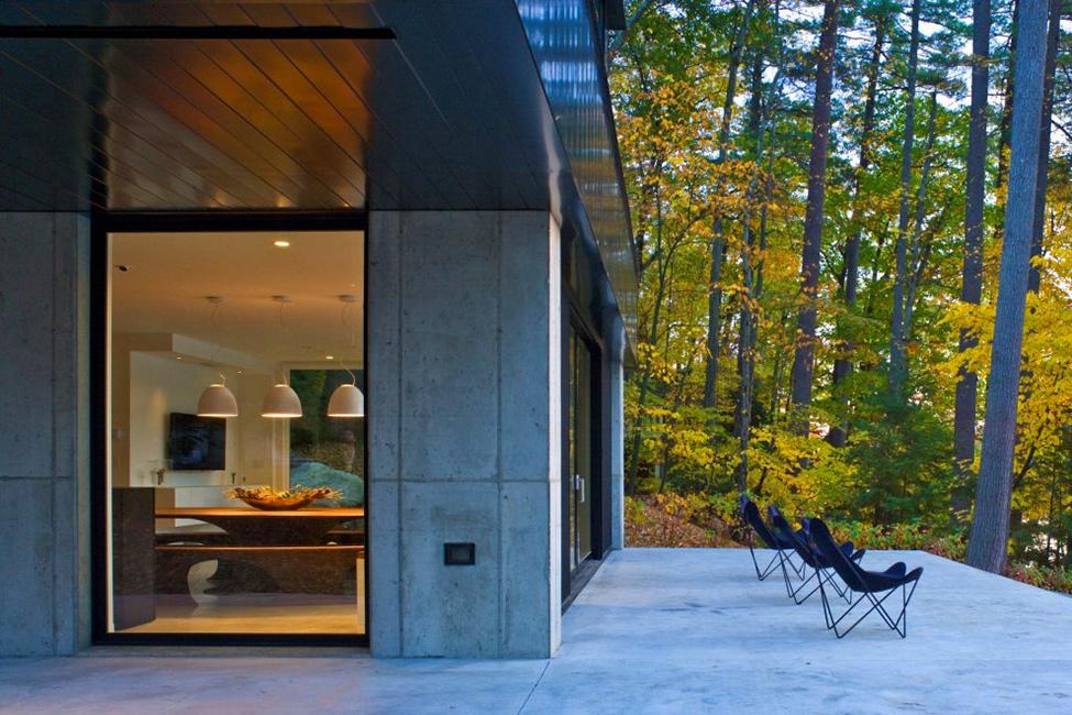 Современный проект жилища в Вермонте фото 10