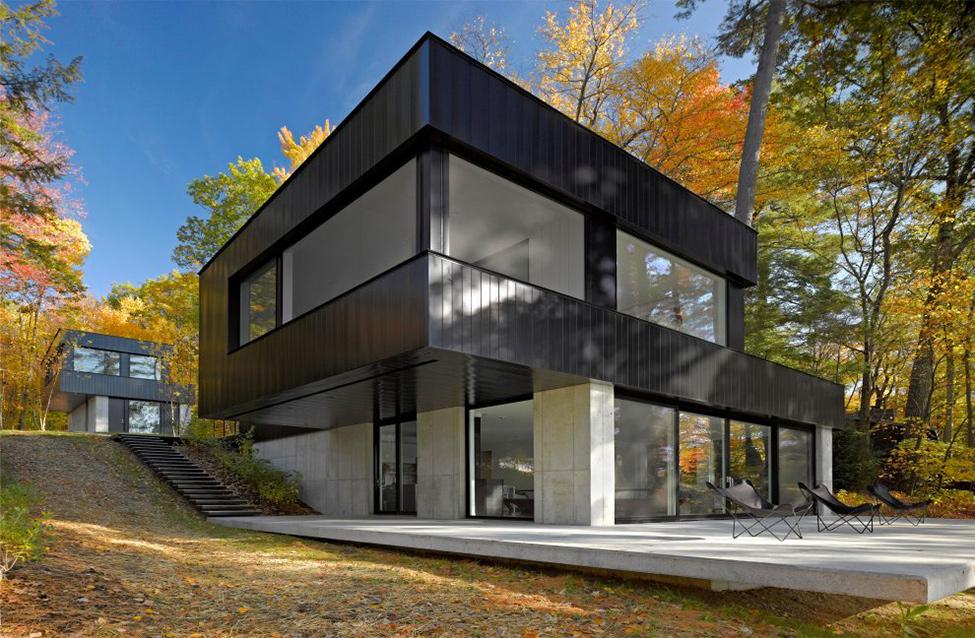 Современный проект жилища в Вермонте фото 2