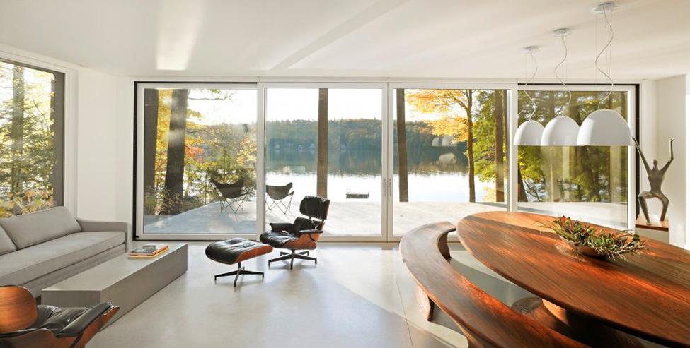 Современный проект жилища в Вермонте фото 3