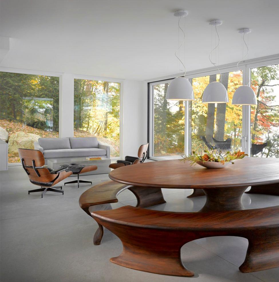 Современный проект жилища в Вермонте фото 4