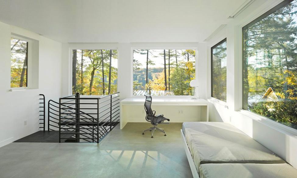 Современный проект жилища в Вермонте фото 7