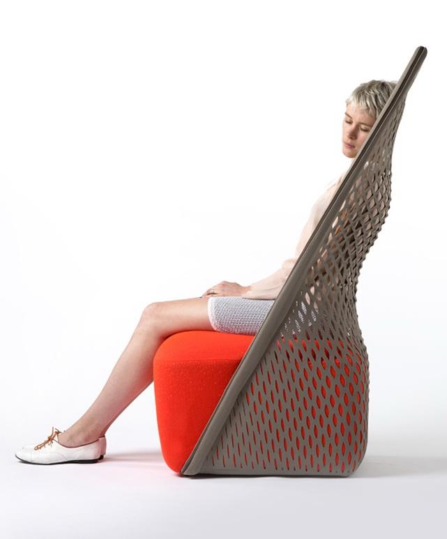 Удивительный стул от Бенджамина Хьюберта фото 1