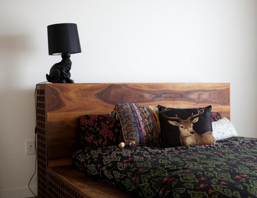 Уникальная кровать с элементами ручной работы фото 2
