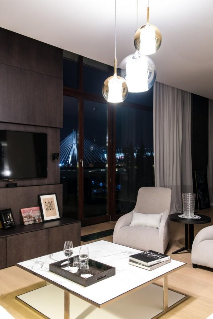 High-Tech и High-End квартира в Варшаве фото 6