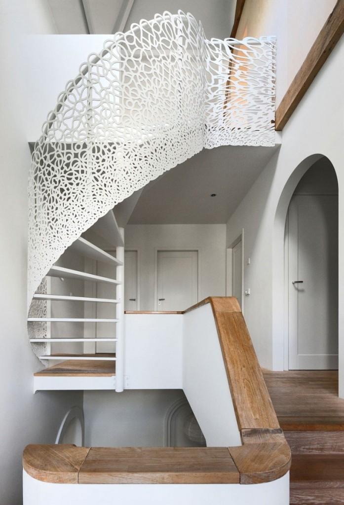 Прекрасный проект дома с соломенной крышей фото 10
