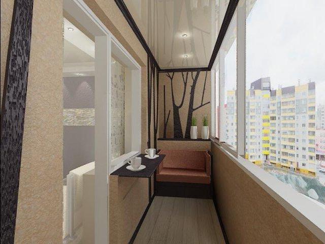 Все о интерьере кухни с балконом