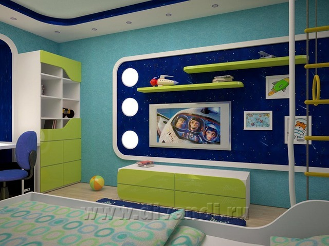 Детская комната в стиле Child Dream