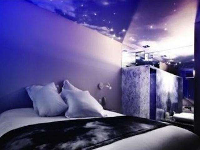 На седьмом небе - необычная спальня