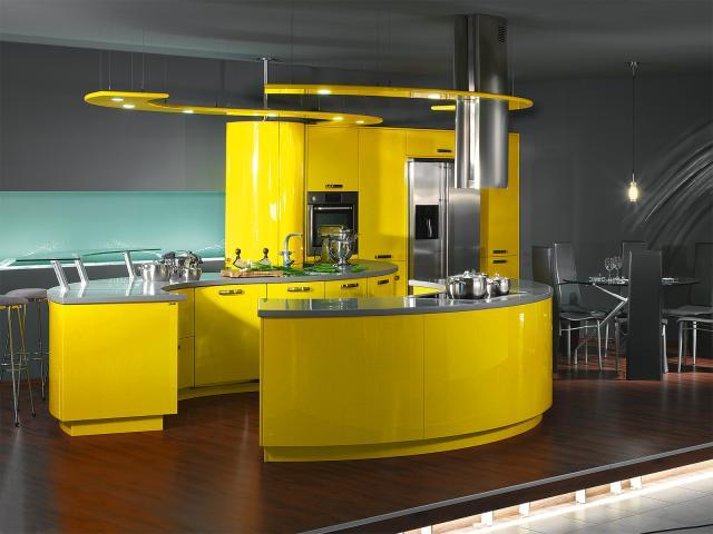 Интересные идеи дизайна вашей кухни