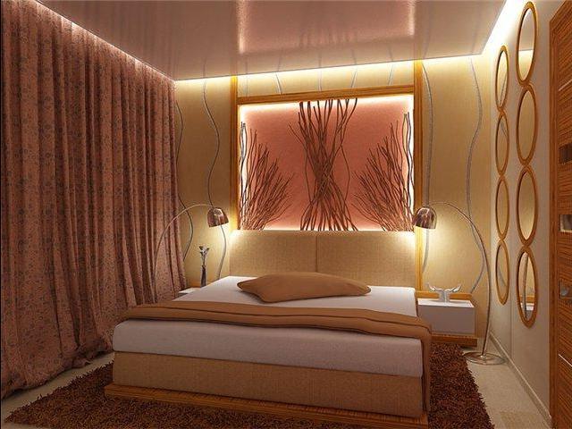 Оригинальные идеи украшения спальни