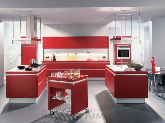 Необычные кухонные интерьеры для дома