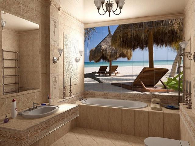 Необычные интерьеры вашей ванной