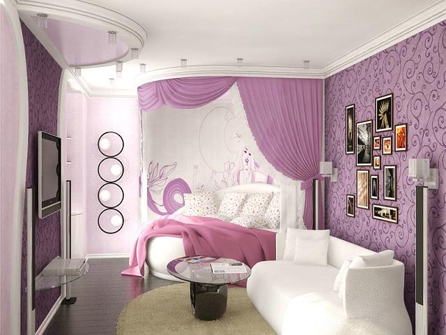 Интересный дизайн вашей спальни