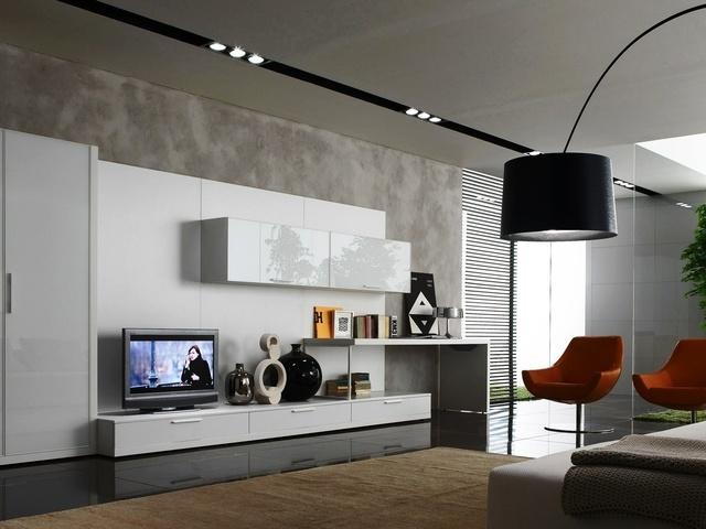 Дизайн современной гостиной комнаты