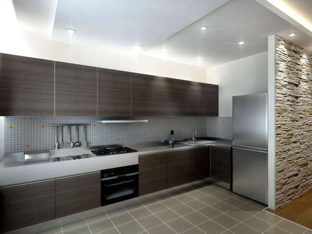 Уникальный дизайн для маленькой кухни