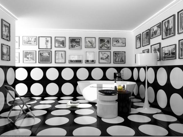 Модная ванная комната и ее черты